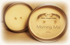 Juvelee Artisan Aromatic Morning Mist Triple Scented Hand Poured Soy Wax Candles 200g } FREE SHIPPING by Juvelee on Etsy