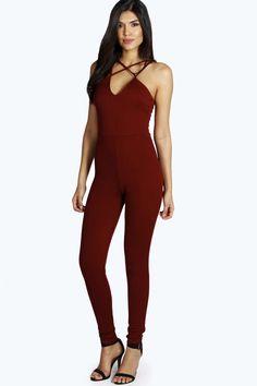 b4a7970539c Sumaiya Strappy Scuba Jumpsuit alternative image Holiday Wear