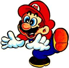 Mario looking surprised from the official artwork set for #SuperMarioBros2 on the #NES. #SuperMario #SuperMarioBros #Retrogames. Visit for more info http://www.superluigibros.com/super-mario-bros-2-nes
