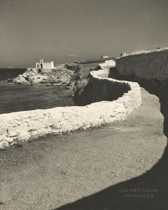 Φωτογραφικό Αρχείο ΕΛΙΑ-ΜΙΕΤ                         Herbert List - Mykonos, 1939