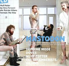 mastodon-Favorite band and all super sexy lol