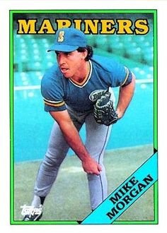 1988 Topps 32 Mike Morgan - Seattle Mariners (Baseball Cards) *** You can find out more details at the link of the image.
