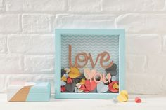 Looking for something that little bit different to give to your nearest and dearest this Valentine's? Well we might just have the answer with this sweet heart confetti frame. Personalise with your sentiment of choice for a completely unique gift that will be cherished for years to come.