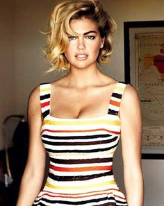 Kate Upton Bob Haircut 2017 is available on this page with making idea and hairstyle name so get this bob blonde new 2017 haircut with all cutting method Celebrity Short Haircuts, Trendy Haircuts, Short Hairstyles For Women, Hair Styles 2014, Curly Hair Styles, Chin Length Haircuts, Big Curls, Short Hair Cuts, Curly Short