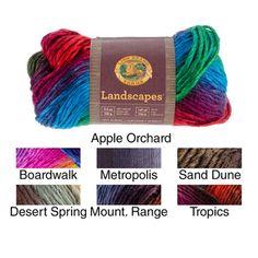 Lion Brand Hometown Yarn--5 Skeins of FARGO FIELDS