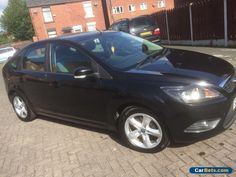 2009 ford focus zetec panther black 5 door 16 climate pack low mileage facelift ford