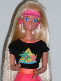 Glitter hair barbie by illina86, via Flickr