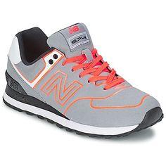 Tus #zapatillas de mujer #new #balance grises para tu look sportchic esta temporada.  Toda la moda en un click disponible en #spartoo.
