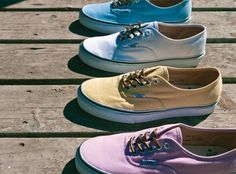 #Vans California Authentic CA 'Brushed Twill' Pack Spring 2012