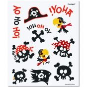 "Pinned it, got it...I ordered these Pirate Tattoos for our ""Tattoo Parlor"". They were cute & the kids liked them. They are a fun addition to the twins pirate party - TR"