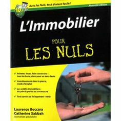 L'immobilier Pour Les Nuls de Laurence Boccara