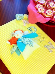 Melekli anı defteri, bebek için hediye, doğum odası süslemesi