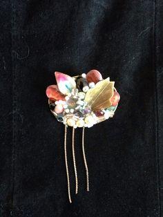 Vintage hand made brooch on Etsy, $25.00