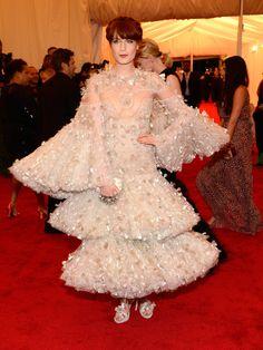 Florence Welch  Design: Alexander McQueen