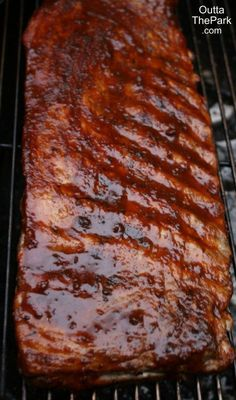 Grilled St. Louis Ribs