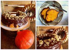 Kürbiskuchen mit Schoko-Ingwer-Frosting