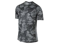 Nike Sublimated Camo Men's Running Shirt
