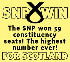 Record breaking #SNPWin