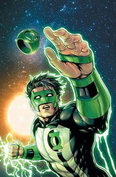 Hal Jordan and the Green Lantern Corps from DC Comics Green Lanterns, Green Lantern Corps, Green Lantern Hal Jordan, Arte Dc Comics, Marvel Girls, Kyle Rayner Green Lantern, Character Drawing, Comic Character, Comic Books Art