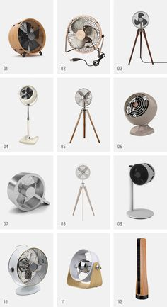 pretty everything : standing + table fans - almost makes perfect Kitchen Fan, Home Decor Kitchen, Casa Muji, Stand Fan, Industrial Fan, Retro Fan, Standing Table, Unique Home Accessories, Floor Fans