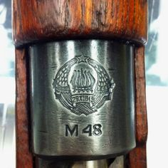 Stamp on the bolt of a Mauser.