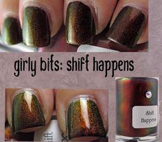 girly bits, shift happens
