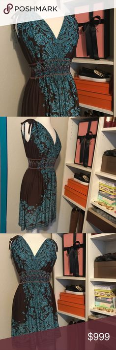 Stretchy Vacation Summer Day Dress w Paisley Print In process of editing listings. Description will come later along with price drop.     🎗Sale proceeds are donated, so TY in advance. See my profile for info. ✨ Dresses