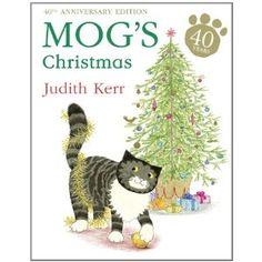 Mog's Christmas by Judith Kerr. Aaah. Lovely, lovely Mog.