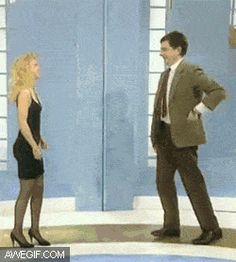 Being awkward around women...