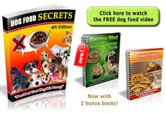 Click Here to Download Dog Food Secrets eBook Here