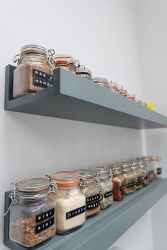 9 Amazingly Clever Ikea Hacks for the Kitchen ledge shelving spice rack Related posts: 27 Kitchen Storage Hacks And Ideas Clevere Kitchen Decor Hacks 17 Easy DIY Kitchen Hacks for Organizing Stuff 20 DIY Kitchen Organization And Storage Hacks Ideas