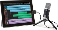 Apogee Mic 96k condenser microphone for Apple iOS devices