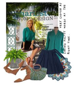"""""""Charleston's preppy southern style"""" by thesouthernsnowflake on Polyvore featuring Pier 1 Imports, Coldwater Creek and Mint Velvet"""