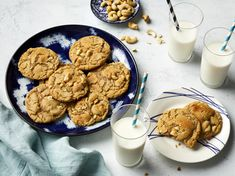 This deeply satisfying, gluten-free take on the classic peanut butter cookie is amazingly toasty and nutty. Swapping rice flour in for all-purpose helps these cookies achieve a delightful textural balance between chewy and sandy. Classic Peanut Butter Cookies, Butter Cookies Recipe, Edible Cookies, Edible Cookie Dough, Fall Cookie Recipes, Holiday Recipes, Fall Cookies, Rice Cookies, Yummy Cookies