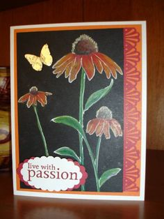 Black Magic - Live with Passion by houstonarmymom - Cards and Paper Crafts at Splitcoaststampers