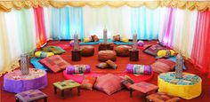 Mendhi Decor, wedding stages in London, Asian wedding stages