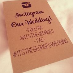 Instagram: un útil invitado a vuestra boda