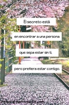 El secreto...