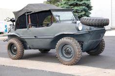 1943 WW2 VW Schwimmwagen.