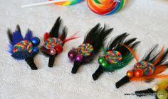 Lollipop Love Willy Wonka Boutonniere by SurroundingsOnline