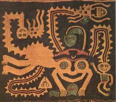 This cloth is the vestiges of what was the Paracas Culture, a group of sovereignties that lived in these lands until 300 A.D