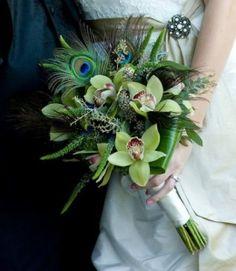 Peacock Themed Wedding....uhm...yes.