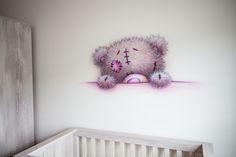 Me to you muurschildering...