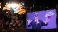 Firari Katalan lider Puigdemont, seçim kampanyasına hız verdi Tartışmalı referandumunun ardından Belçika'ya kaçan Puigdemont, seçmenlerden bağımsızlık için oy vermelerini istedi. #ABDhaberleri #usanews #news #turkishnews