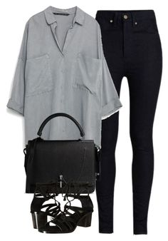 """""""Untitled #4196"""" by maddie1128 ❤ liked on Polyvore featuring Rodarte, Carven and Frye"""