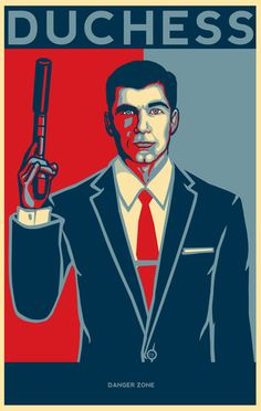 Sterling Archer, code name Duchess - Love this series