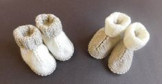 The Baby Hug Boots are a great stashbuster and an even better gift for any little one in your life. This free knitting pattern is downright adorable. Keep your baby& feet nice and warm with these wonderful knit baby booties. Baby Knitting Patterns, Baby Booties Knitting Pattern, Knitting For Kids, Knitting Socks, Baby Patterns, Free Knitting, Crochet Patterns, Doll Patterns, Knitting Projects