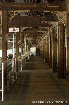 The clubhouse at Saratoga (Old & new: The past is present everywhere you turn at historic Saratoga | Daily Racing Form/Barbara Livingston)