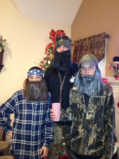 Gotta love some Duck Dynasty kiddos! Funny HalloweenHalloween IdeasHalloween CostumesDuck ... & A Duck Dynasty Halloween in Possum Creek  TN. We love u guys ...