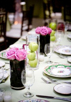 Country Style Chic: Garden Party Inspiration in Pink & Green